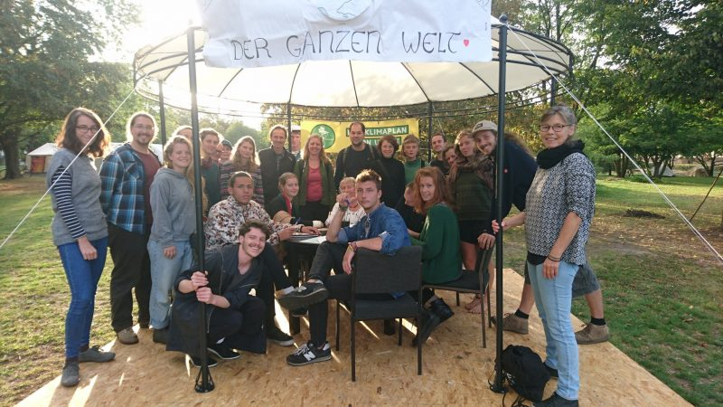 Das erste Write-In auf der we4future-Camp in Berlin